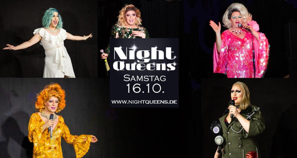 Night Queens Travestie Show Variete Drag Revue Termin Ticket