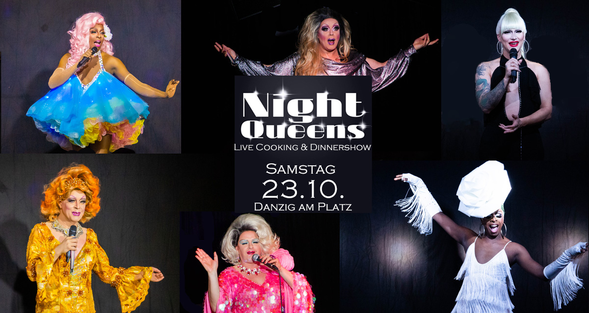 Night Queens Travestie Show Variete Drag Revue Termin Karten Ticket
